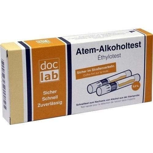 DocLab Atem-Alkoholtest 0,50 Promille, 2 St