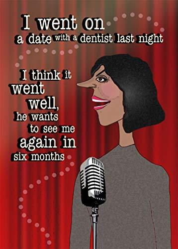 Geburtstagskarte für Ehefrau, Ehefrau, Ehefrau, Freundin, Freundin, Freundin, unhöflich, lustige Freundin, für Ihn, Go La La La