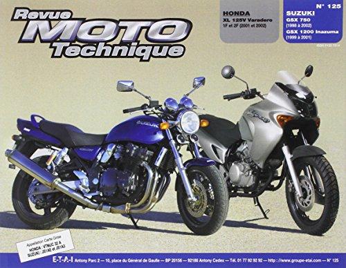 Rmt 125.1 Honda Xl 125v/Suzuki Gsx 750-1200 Inazuma
