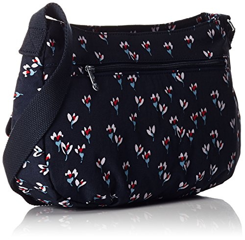 Kipling Syro - Sac Bandoulière Femme Multicolore (Small Flower)