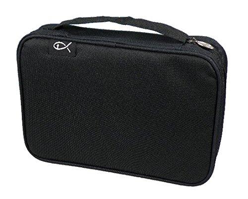 MaMeMi Bibeltasche XL 25x17x5,5cm, schwarz (Bibel-taschen Tragetaschen Und)