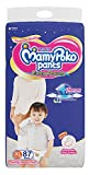 #5: MamyPoko Pants Extra Absorb Diaper Monthly Jumbo Pack, Extra Large, 87 Diapers