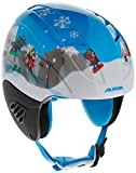 Alpina Kinder Skihelm Carat, Blue Dog, 54-58, 9035384
