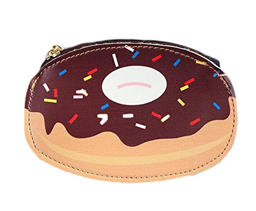 iTemer Portemonnaie Damen Null Brieftasche Niedlich Muster Kreativ Reißverschluss Geldbörse (Muster Niedliche Geldbörse)