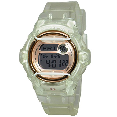 Casio Baby-G Women's Pink Dial Resin Band Watch - BG-169G-7BDR