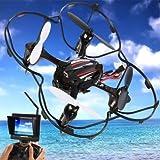 WayIn® JJRC H6D 2.4G 6 Axis Gyro cámara HD 5,8 g FPV tiempo real RC Quadcopter RTF - NEGRO