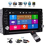 EinCar Double Din Car Stereo fwith GPS Navigation 3 Type UIs support 1080P
