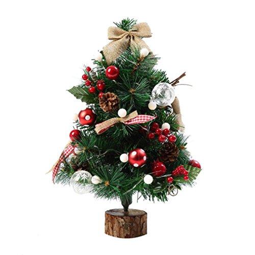 Gelb Dekorative Lichterkette (HKFV Künstliche Beflockung Weihnachtsbaum LED Multicolor Lichter Urlaub Weihnachten Fenster Dekorationen 50cm Weihnachtsdekoration mit Weihnachtsbaum Weihnachtsbaumkurs 1 PC Lichterkette)