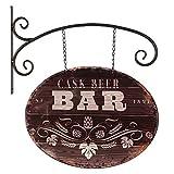 G1122: Reklame Ausleger Bar, Pub, Werbeschild, Zunft Schild, Retro Kneipenschild