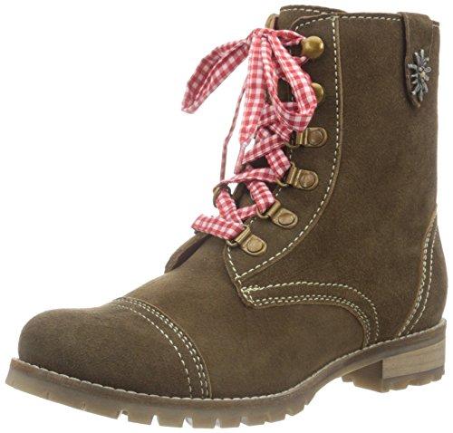 Bergheimer Trachtenschuhe Damen Tauplitz Chukka Boots, Braun (Brown), 42 EU