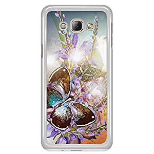 a AND b Designer Printed Mobile Back Cover / Back Case For Samsung Galaxy A8 (SG_A8_2133)