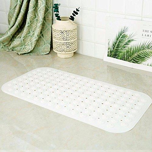 NSSBZZ*Diatomization Wasserbad Matte Matte Matte Diatomeen Diatomeen Schlamm Puddle Silicon 60 * 39 cm White 36 * 71cm (36 Dusche Tür)