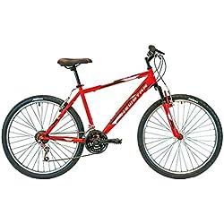 """New Star 87MS311 - Bicicleta BTT 26"""" para hombre con cuadro de aluminio"""