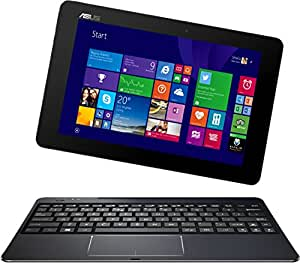 Asus T100CHI-FG003B 25,6 cm (10,1 Zoll FHD) Convertible Tablet-PC (Touchscreen, Intel Atom Z3775, 1,4GHz, 2GB RAM, 64GB HDD, Intel HD, Win 8) Dunkel Blau