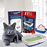 ZOSEN Durable Cat Litter Box Liners with Drawstrings, Big Size Cat Litter Pan