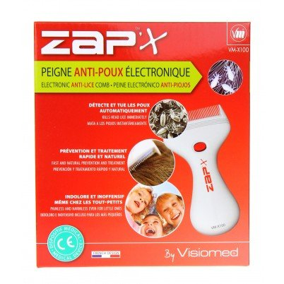 Visiomed Zap'X elektronischer Läusekamm VM-X100