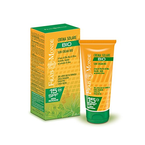 Frais monde crema bio protezione solare, spf 15-150 gr
