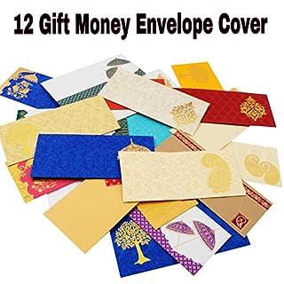 Amba Handarbeits-Geschenk-Umschläge/Geldumschläge/Shagun/Indianer/Hochzeit/Bargeld-Geschenk/Diwali-Umschläge/Hochzeitsdekorationen/Hochzeitskarten/Neujahrsumschläge. AHCV001