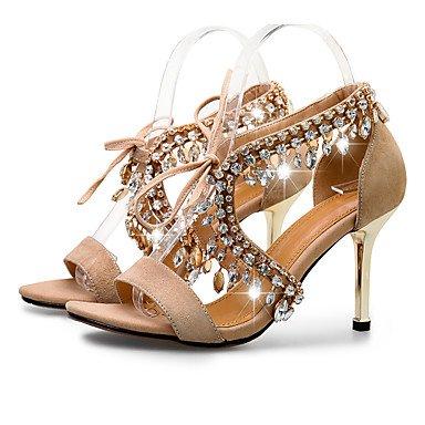 Rtry Femmes Sandales Eté Automne Club Vachette Chaussures Bureau & Carrière Party & Soirée Robe Talon Stiletto Strass Us6 / Eu36 / Uk4 / Cn36