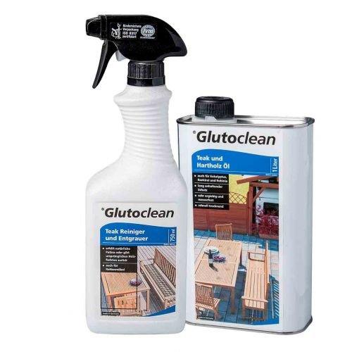 Glutoclean Teak Reiniger + Öl