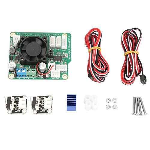 Shield Expansion Board per Raspberry Pi 3B, stampanti 3D fotopolimerizzabili NanoDLP, con MOS controllato e connettore I2C