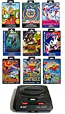 SEGA Mega Drive 2 Konsole inkl. Zubehör und mit 11 Kultspielen