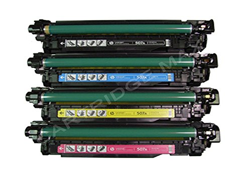 Affordable Cartridge Max ® Compatible HP 507 (HP CE400X, CE401A, CE403A, CE402A) Toner Cartridges Multipack Replacement for HP LaserJet Enterprise 500 Color Flow MFP M575c, MFP M575dn, MFP M575f, M551dn, M551n, M551xh, MFP M570dn, MFP M570dw (Black,Cyan,Magenta,Yellow, 4-Pack) Special