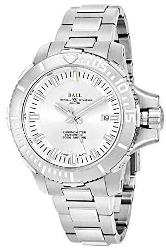 BALL MEN'S ENGINEER HYDROCARBON DEEP QUEST 46MM AUTOMATIC WATCH DM3000A-SCJ-SL