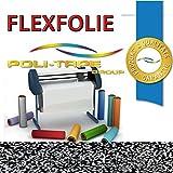 GLITZER FLEXFOLIE BÜGELFOLIE 1 METER x 500mm POLI-FLEX PREMIUM GLITTER