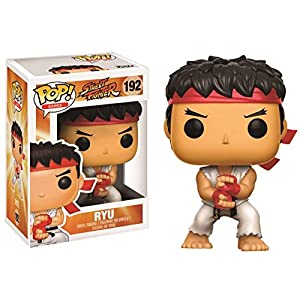 Funko Pop Ryu – Ataque Especial (Street Fighter 192) Funko Pop Street Fighter