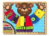 #8: Melissa & Doug 3784 Basic Skills Board,Multi Color