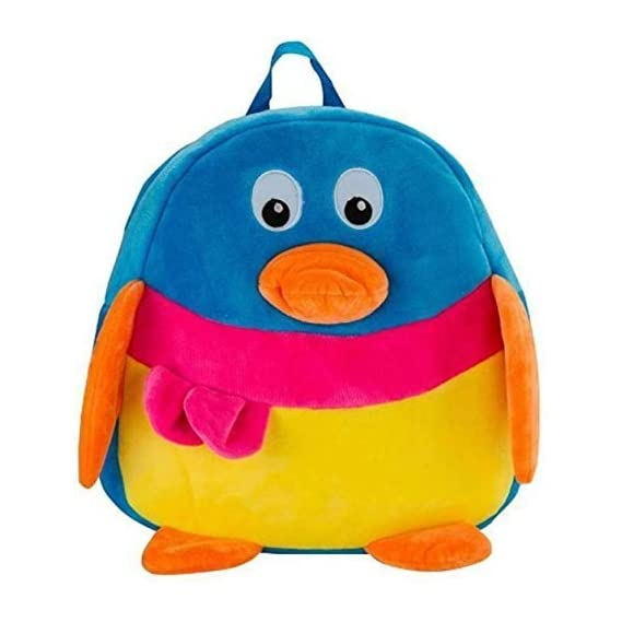 DZertSoft Velvet Plush Backpack Cartoon, Children's Gifts Boy /Girl/Baby Kid's School Bag
