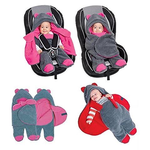 Sevira Kids - Turbulette - chancelière universelle pour poussette ou siège auto - 80 Cm (passeggini e seggiolini)