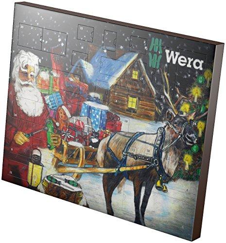 Preisvergleich Produktbild Wera Adventskalender 2016, 24-teilig , 1 Stück, 05135997001