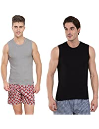 Jockey Muscle Tee Super Saver Pack Of 2 ( Choose Pack Of Your Choice )