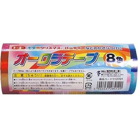 8 colori nastro Toyo Aurora (japan import)