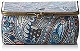 Oilily Damen Frame Beauty Case Kosmetiktäschchen, Blau (Legend Blue 550), 18x12x8 cm