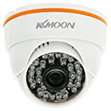 Kkmoon Day & Night Vision 720P IR Indoor ONVIF Security IP Dome Camera with 30 LEDs