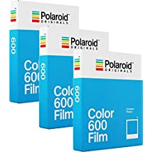 Polaroid Originales 600 color película Triple Pack (24 tiros)