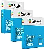 Polaroid Originals 600Color Film Sofortbildfilm, Farbfilm, 3er-Packung (24Aufnahmen)