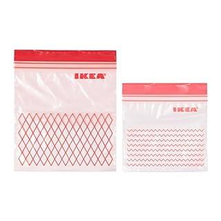 New Ikea Istad Rot Kunststoff Gefrierschranktauglich Bag U2013 30 Bags (0,4 L