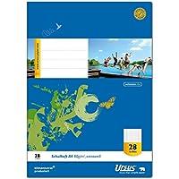 Ursus 040416028 Schulheft klimaneutrales extraweißes Qualitätspapier 10er Pack preisvergleich bei billige-tabletten.eu