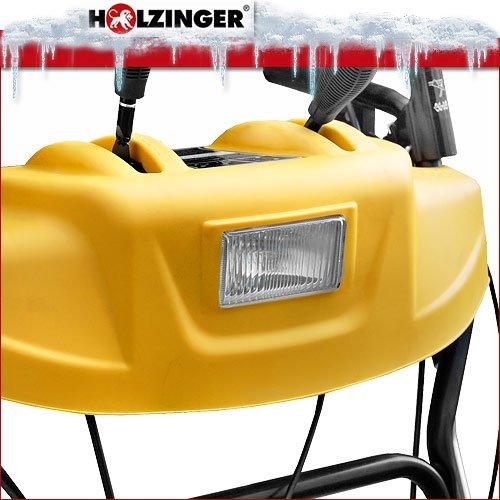 Holzinger Benzin-Schneefräse HSF-110(LE) mit E-Start, Licht und Radantrieb - 5