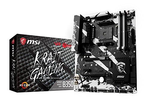 MSI B350 KRAIT GAMING, Sockel AM4, DDR4, HDMI,DVI 1x M.2 & 10x USB 3.1(2x Gen2 & 8x Gen1), 1x USB-C ATX Mainboard Msi Amd Notebooks