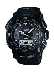 Reloj Casio PRG-550-1A1ER y digital de cuarzo para hombre con correa de resina, color negro de Casio