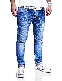 MT Styles Jeans Slim Fit pantalon homme RJ-3185