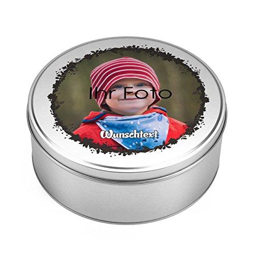 Herz & Heim® Geschenkdose mit Foto Aufdruck und Wunschtext - ideal zum Geburtstag oder Weihnachten