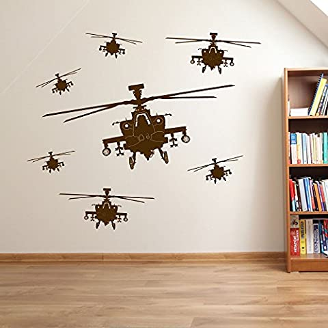 Army Helicopter Men Military Soldiers Helicopter Wall Decorations Window Stickers Wall Decor Wall Stickers Wall Art Wall Decals Stickers Wall Decal Decals Mural Décor Diy Deco Removable Wall Decals Colorful Stickers