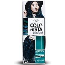 L'Oréal Paris Colorista Washout Vivid Colorazione Capelli Temporanea, Ottanio (Turquoise)