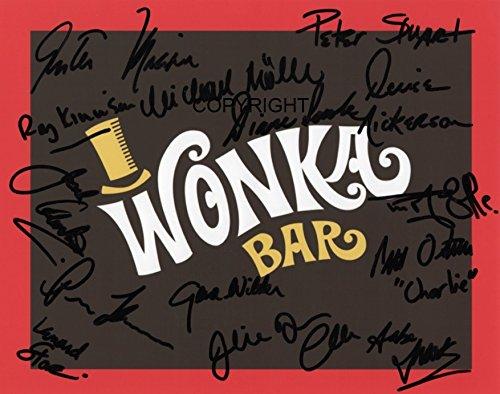 Limited Edition Willy Wonka Guss Signiert Foto Autogramm signiertsigniertes